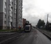 Продолжается текущий ремонт улицы Красноармейская в Бердске