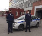 Инспекторы полка ДПС ГИБДД Новосибирска задержали нетрезвого водителя, подозреваемого в угоне автомобиля