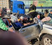 Пьяный на «Филдере», госномер Н 910 ТН, 154 регион, устроил тройное ДТП у вокзала в Бердске и уехал с места происшествия