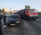 КамАЗ «собрал в кучу» две легковушки на трассе в Бердске