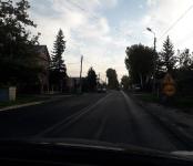 Заасфальтировали аварийно-опасный участок улицы Красноармейская в Бердске