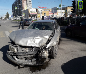 Житель Искитима на «Хонде» попал в жёсткое ДТП у «Европы» в Бердске