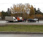 Едва не пострадал ребёнок в автозамесе на трассе в Бердске