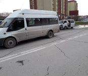 Микроавтобус Mazda Bongo протаранил маршрутку №325 с тремя пассажирами в Бердске