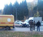 Под Бердском в столкновении грузовой ГАЗели и Lada Granta погиб пасажир легковушки
