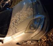 В Бердске облили кислотой автомобиль. Очевидцев просят откликнуться