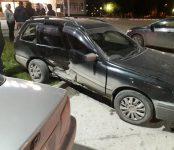 «Хонда Аккорд» протаранила «Ниссан Вингроуд» возле парковки у ДК «Родина»