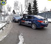 Тройное ДТП на перекрёстке в Бердске устроил таксист от «Ситимобил»