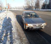 Закрытым переломом ноги отделалась 60-летняя женщина- пешеход в ДТП на переходе в Бердске