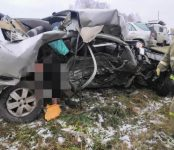 В ДТП на трассе Р-256 погиб 35-летний водитель «Тойоты»