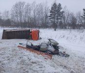 Трое, в том числе 10-летний мальчик, погибли в ДТП на федеральной трассе в Новосибирской области