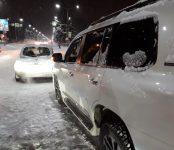 Мелкая авария на перекрёстке в Бердске вызвала затруднения с проездом по главной улице города
