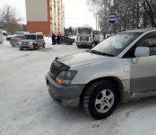 Тройное ДТП возле «химзаводской медсанчасти» в Бердске обошлось без пострадавших