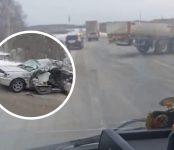Житель Черепаново чудом выжил в лобовом ДТП с фурой на  трассе Р-256