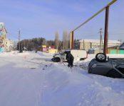 Двое, в том числе 4-летний ребёнок, пострадали в ДТП в Черепановском районе