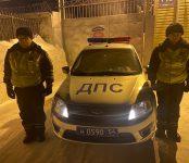 В ГИБДД региона назвали своих сотрудников, спасших в лютый мороз пассажиров замёрзшего в Бердске автобуса
