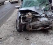 Два пассажира легковушки погибли в ДТП с фурой сегодня на трассе Р-256 в Искитимском районе.