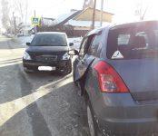 Водитель-женщина и годовалый малыш  травмированы в столкновении Toyota Opa и Suzuki Swift на перекрёстке в Бердске