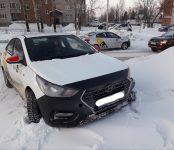 Два «Яндекс.Такси» не разъехались на главной улице Бердска