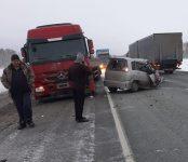 Водительница «Ниссана» погибла в лобовом столкновении с фурой на трассе Р-256