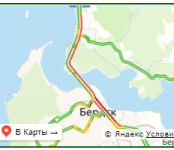 Устроили дорожный коллапс в Бердске участники ДТП на «вшивой горке»