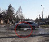 Обложили кирпичами место аварийного ремонта на дороге в Бердске