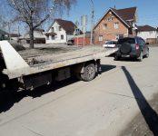 Отправили Suzuki на штрафстоянку правоохранители в Бердске