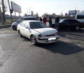 Тройное ДТП на перекрёстке в Бердске попало на видео