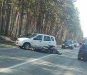 Водитель мопеда погиб при столкновении с автомобилем