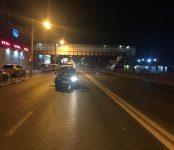 Автоледи на «Спасио» сбила пешехода рядом с надземным переходом в Бердске