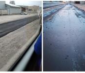 Начался ремонт дороги на улице Промышленной в городе Бердске