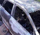 Полиция Бердска разыскивает поджигателя Audi с тюменскими номерами