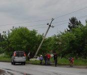 Улетел на обочину и врезался в столб водитель «жигулей» в Бердске