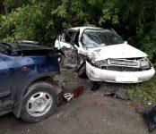 Выехал на «встречку»: в столкновении двух иномарок на улице Ленина в Бердске травмировал ногу водитель старенькой «Тойоты»