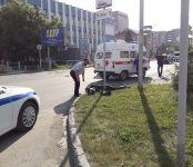 В центре Бердска погиб молодой мотоциклист, разбившись о столб
