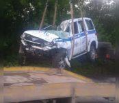 В патрульном автомобиле при погоне за мотоциклистами в Тогучине погиб инспектор ДПС