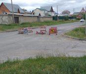 О затянувшемся ремонте дороги на улице Рогачёва в Бердске рассказал читатель «Свидетеля»