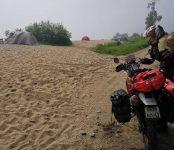 6000 километров на мотоцикле в одиночку проехала сибирячка