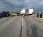 На трассе «Иртыш» в НСО погиб 36-летний водитель «ГАЗели»
