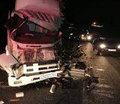 На трассе под Новосибирском погиб водитель КамАЗа