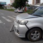 Две «Тойоты» не разъехались без ДТП на перекрёстке в Бердске