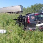 В Кочковском районе НСО произошло ДТП с гибелью человека