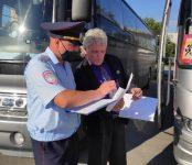 Водителей автобусов в НСО сотрудники ГИБДД проверят на соблюдение ПДД