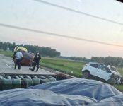 Погиб водитель «Оки» в столкновении с Hyundai Creta на трассе между Искитимом и Завьялово
