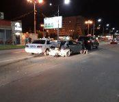 Тройное ДТП в Бердске устроил «гонщик» на «Карине»