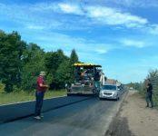 За 10 дней дорожники Бердска заасфальтировали почти 1 км дороги на кладбище