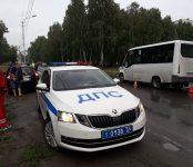 Пять человек, включая двоих детей, пострадали в ДТП с маршруткой в Бердске