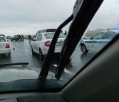 В тройном ДТП на мосту в Бердске пострадал пассажир одного из автомобилей